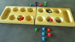 Equilibrium Game with Frogs